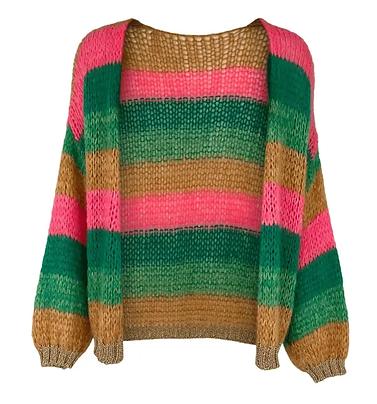 Fluffy Loose Knit Cardigan