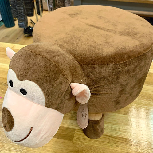 Monkey footstool