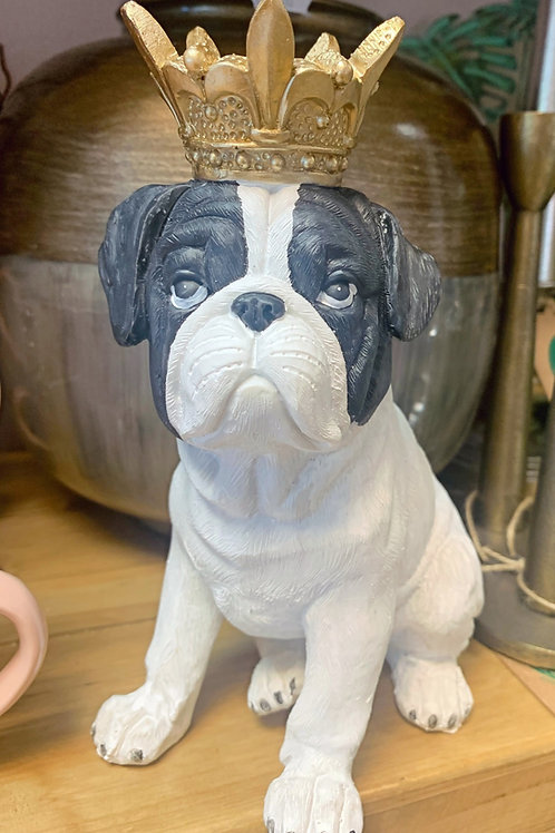 King Bulldog figurine