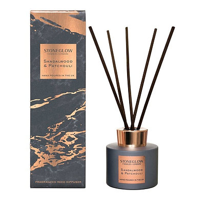 STONEGLOW SANDALWOOD & PATCHOULI - REED DIFFUSER 120ML