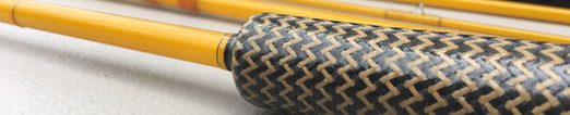 Epic 480 with a custom carbon fiber and fiberglass weave grip