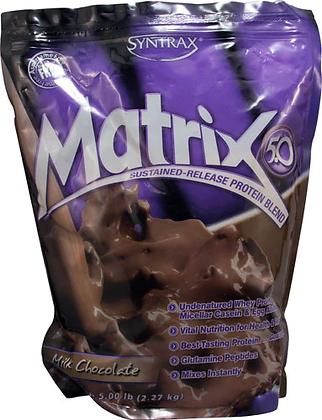 Matrix 5.0 Chocolate 5lb Protein