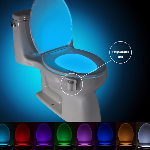 LED Toilet Sensor Light