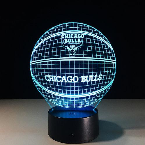 3D LED Illusion Lamps-Sports