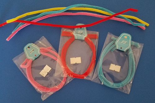 Felt or Tinsel Coated Craft Wire