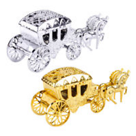 Gold or Silver Royal Carriage Candy Box