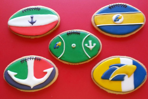 AFL Football in club Colours and Logo