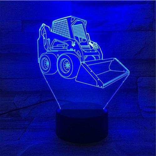 3D LED Illusion Lamp - Vehicles