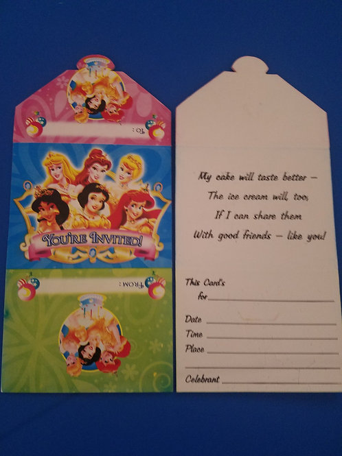Character Birthday Party Invites