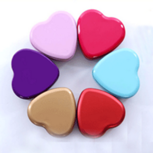 Heart Candy Tins