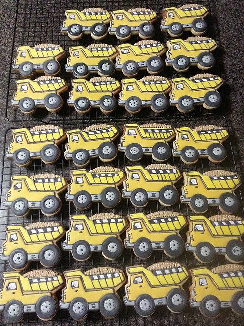 Tip Truck Cookie