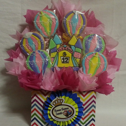 Bouncy Castle & Balloons Birthday Bouquet