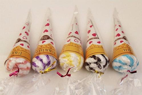 Ice Cream Towel Cake Novelty Loot Bag Filler