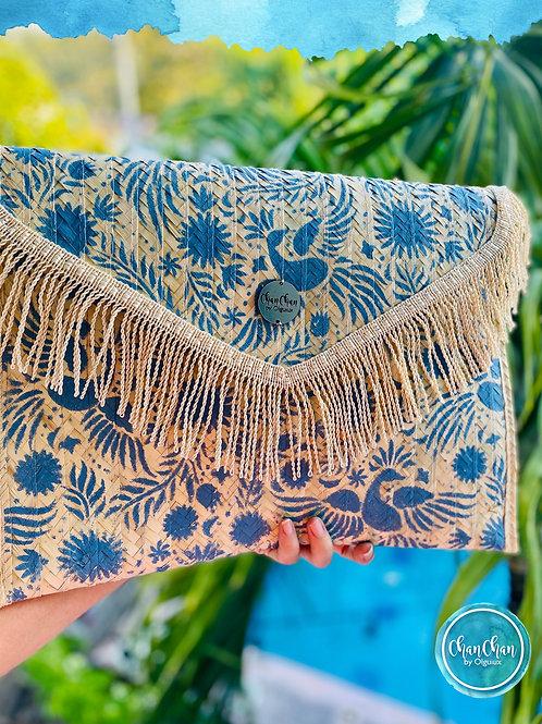 Bolsa tipo Clutch estilo mexicano.