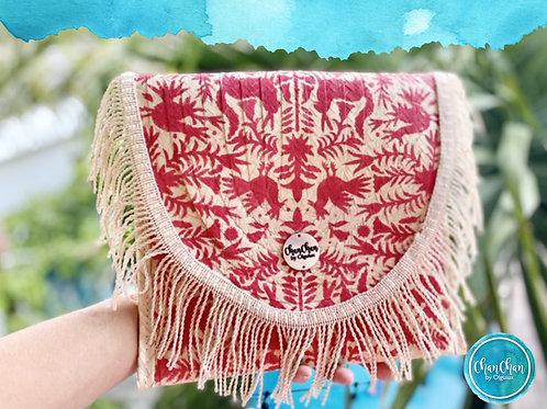 Bolsa tipo Clutch estilo mexicano