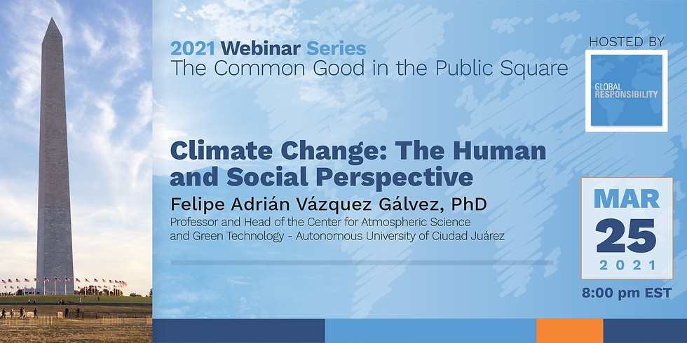 Climate Change: The Human and Social Perspective