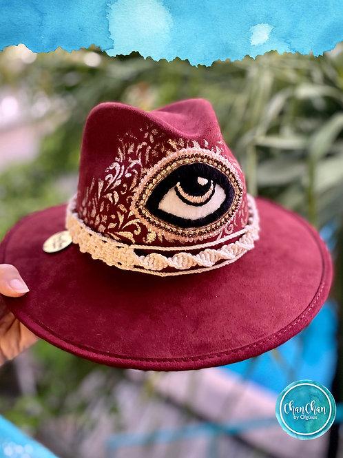 Sombrero gamuza tipo Indie