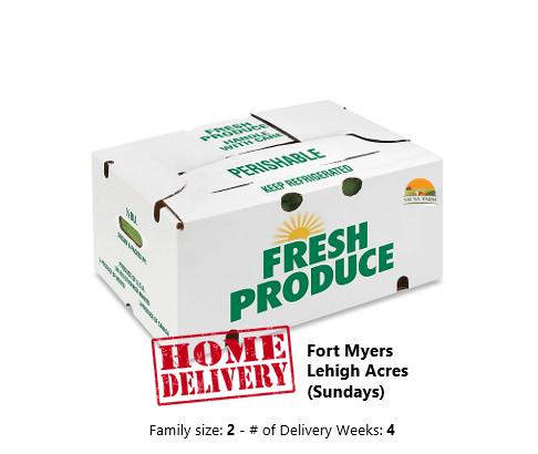 Regular Box - Home Delivered