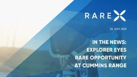 In The News: Explorer eyes rare opportunity at Cummins Range (The West Australian)