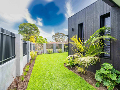 A creative landscaping project in Woodlands