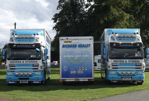 R&S October 2013 – Victory for Richard Healey Removals at Truckfest