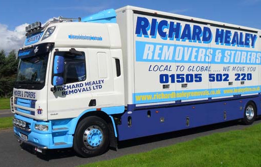 R&S October 2012 – Pioneering Truck Design for Richard Healey Removals