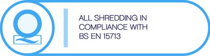 Shredding Certificate icon