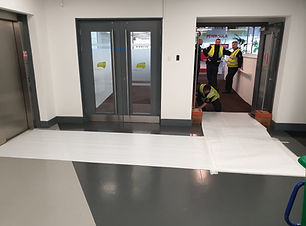 Commercial floor protection