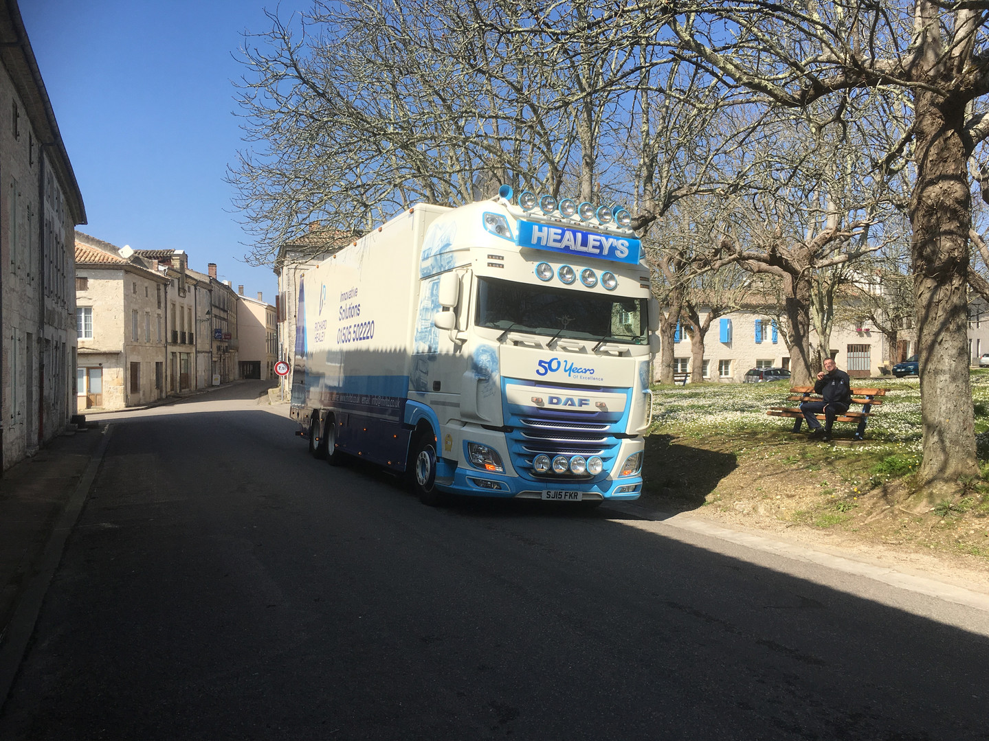 Richard Healey Removal truck in Netherlands