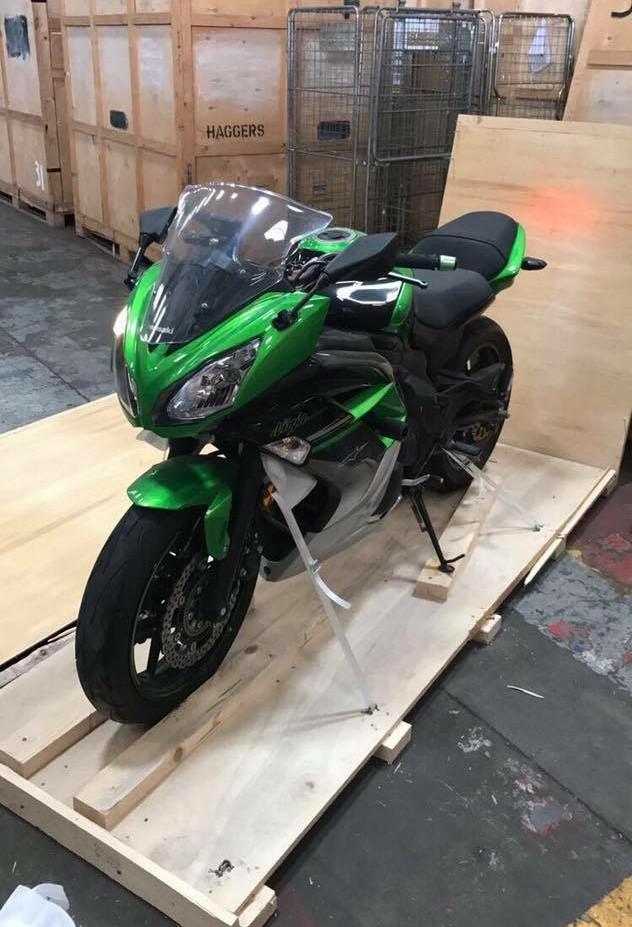 Super bike delivery