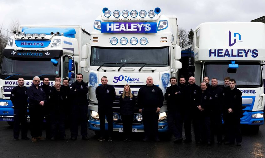 Richard Healey Removals staff photo