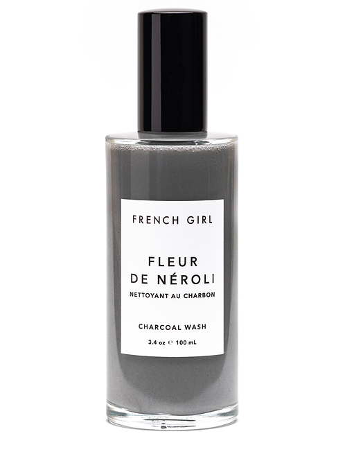 French Girl Charcoal Wash