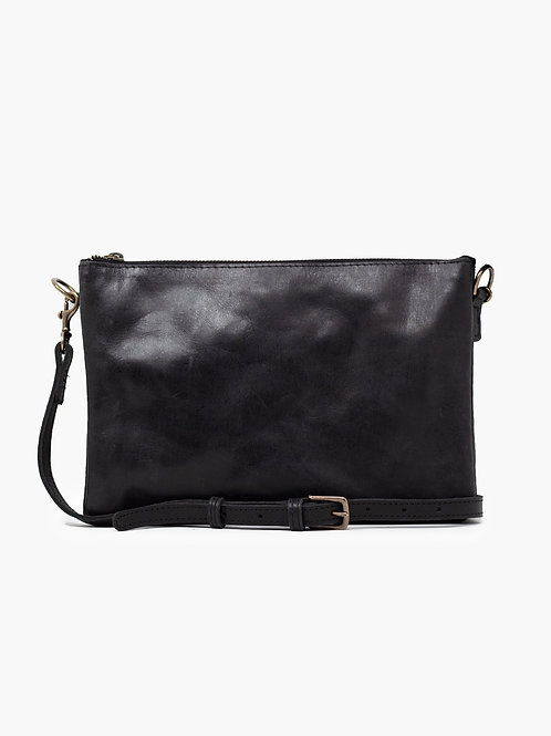 Martha Crossbody: Black