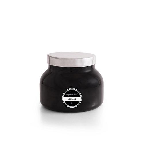 capri BLUE Volcano Black Jar, 19 oz