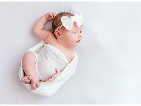 Baby Girl Piper In-Studio Newborn Session