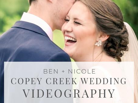 Copey Creek Wedding Videography | Ben + Nicole