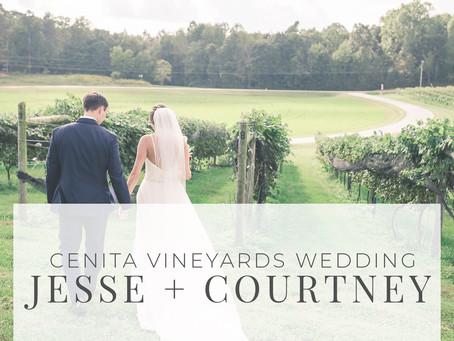 CeNita Vineyard Wedding Photos | Jesse + Courtney Welch