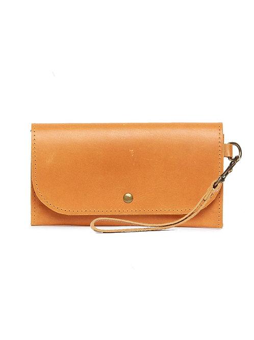 Mare Phone Wallet: Cognac