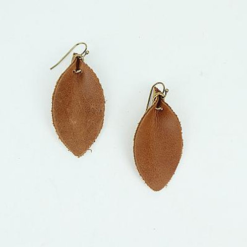 Leaf Leather Cognac