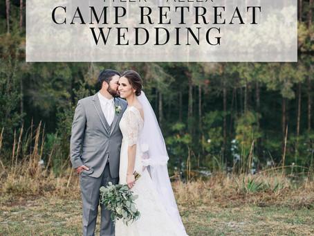Camp Retreat Wedding, Baker FL | Tyler + Allex