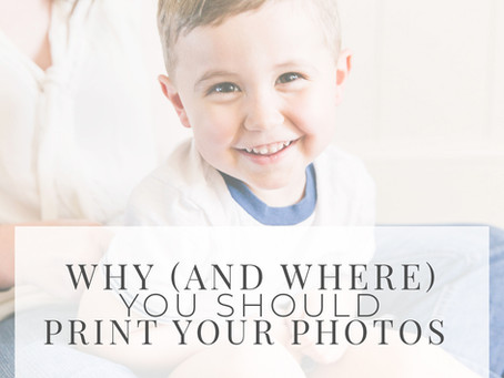 Why (and Where) You Should Print Your Family Photos
