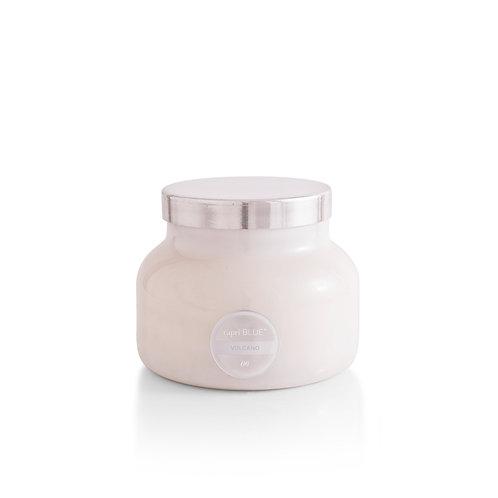 capri BLUE - Volcano White Jar, 19 oz