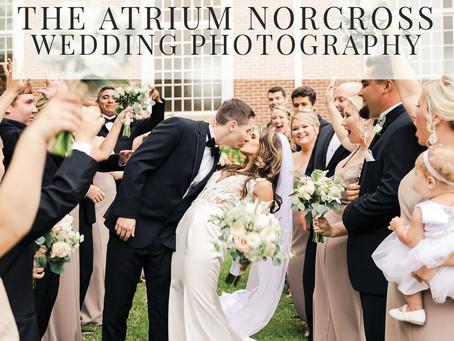 The Atrium Norcross Wedding | Lauren + Austin