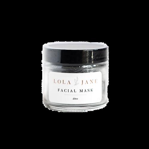 Lola Jane Face Mask - Detox