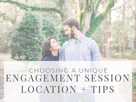 Choosing An Engagement Session Location + How To Prepare