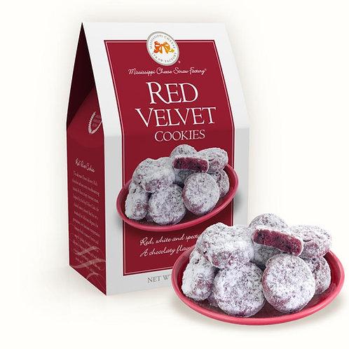 Red Velvet Cookies 6.5 oz. Carton