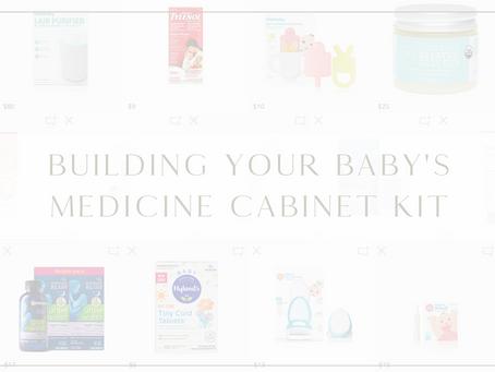 Building Your Baby's Medicine Cabinet