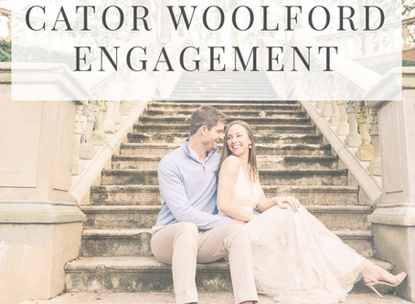 Cator Woolford Engagement Session | Taylor + Cale