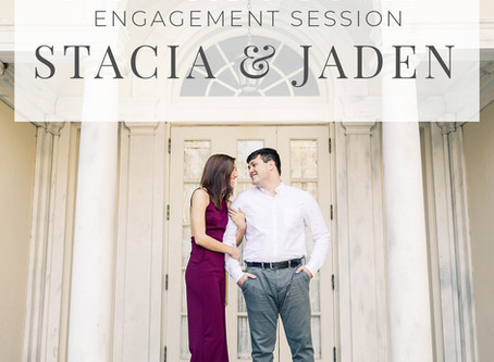 Cator Woolford Garden Engagement Session Stacia and Jaden | Hello Jude Photography