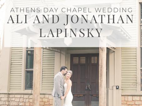 Athens Day Chapel Wedding, Ali and Jonathan | Hello Jude Photography